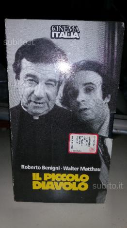 Cassetta VHS originale Il piccolo diavolo