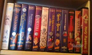 Collezione VHS originali DISNEY