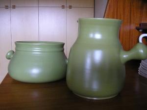 Coppia di vasi anni '70