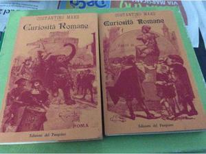 Curiosità romane voll.1 e 3