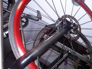 Forcella carbonio freno a disco bici da corsa