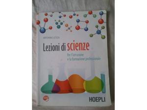 Libro scolastico a tonio letizia lezioni di scienze