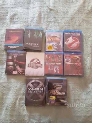 Lotto collezione film originali cofanetti bluray