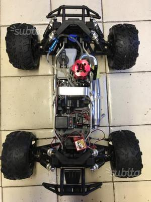 Macchina a scoppio Deagostini Monster truck 3,5cc