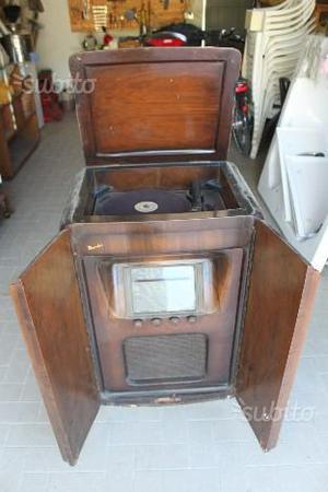 Radio/giradischi anni 30 Magnadyne