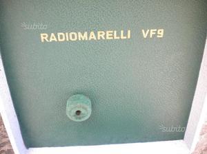 Radiomarelli VF 9 fonovaligia anni 60 valvole