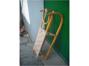 Slittino vintage in legno