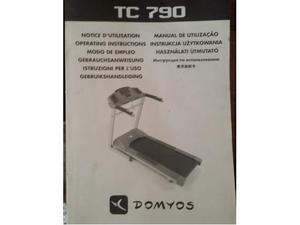 Tapis roulant Domyos Tc 790