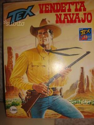 Tex vendetta navajo 455 bonelli editore sett.