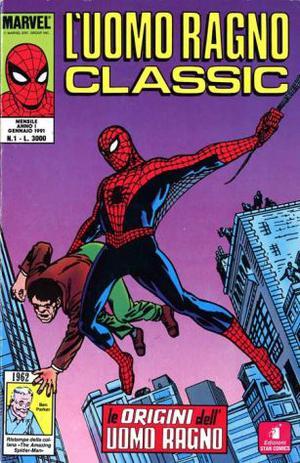 Uomo Ragno Classic (Star Comics) dal n. 1 al n. 15, da