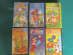 VHS film Walt Disney e La Pimpa