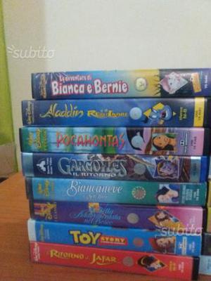 Videocassette cartoni animati Walt Disney