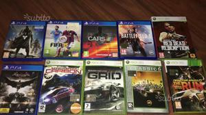 10 giochi per XBOX360 e PS4