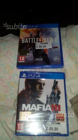 Battlefield 1 -mafia 3 ps4 nuovi