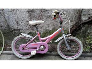 Bici/bicicletta bambina raggio 16