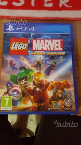 Gioco Ps4 Lego Marvel Super Heroes