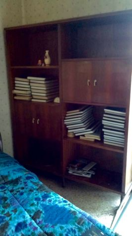 Libreria/armadio in legno massello