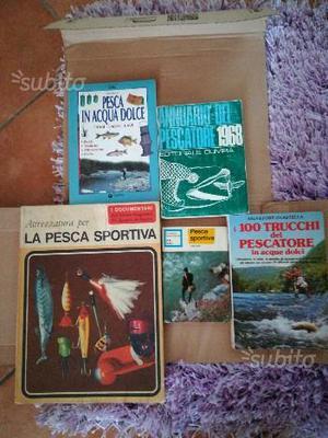 Libri per la pesca sportiva e in acqua dolce