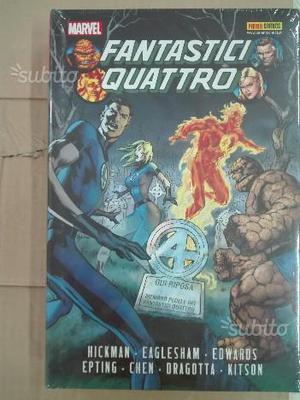 Libro nuovo della Marvel i fantastici Quattro