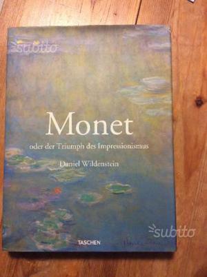 Libro su Monet in tedesco