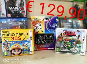 New nintendo 3DS XL sole e luna limited