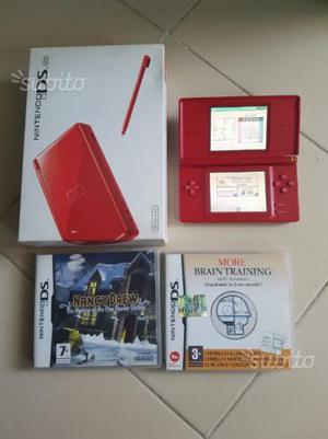 Nintendo ds lite +2 giochi originali