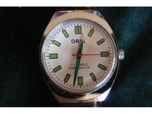 Orologio ORIS anni 70 a carica manuale acciaio