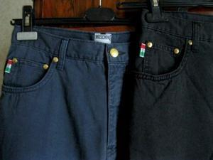 Pantaloni originali MOSCHINO vintage mai indossati