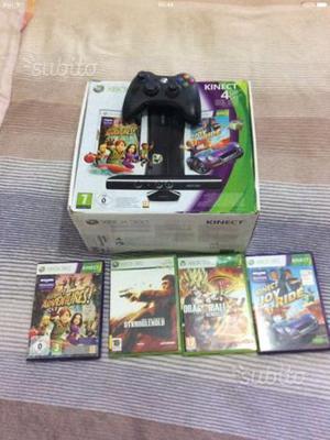 Xbox 360 slim nera 4Gb con memoria esterna 100Gb