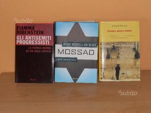 3 Libri Mossad, Storia degli ebrei, Antisemiti