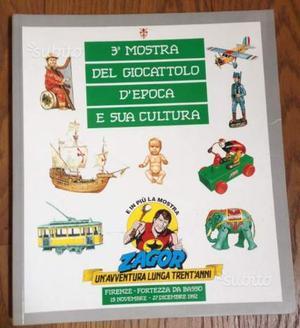 3° Mostra giocattolo d' epoca e sua cultura Firenz
