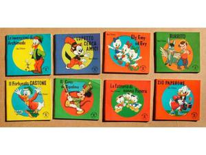 8 mini libri Walt Disney