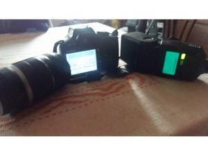 Canon eos 450d + Obiettivo  + FLAHS