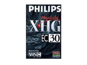 Cassette video philips ec-30