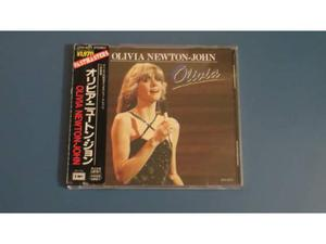 "Cd olivia newton john â€"" olivia (made in japan)"