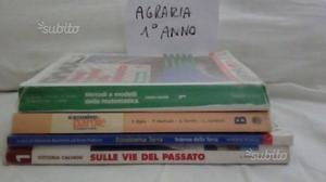 Libri usatI Istituto Agrario di Tarquinia 1° e 2°