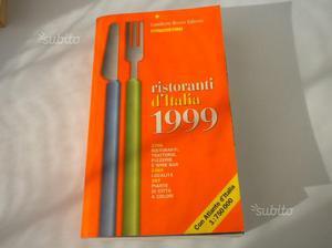 Libro Ristoranti d'Italia  Gambero Rosso Edito