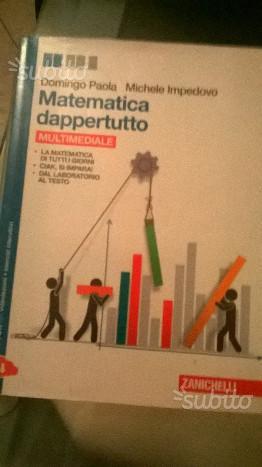 Libro usato MATEMATICA DAPPERTUTTO