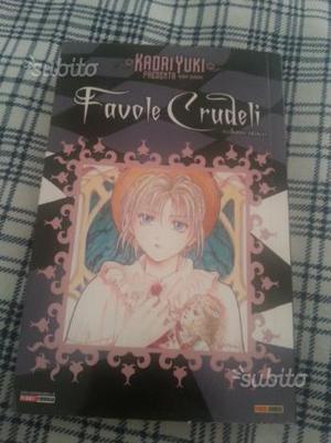 "Manga ""Favole Crudeli"" volume unico nuovo"