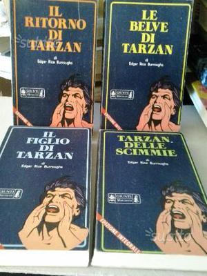 TARZAN di EDGAR RICE BURROUGHS 4 libri