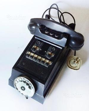 Telefono Centralino in Bachelite anni '