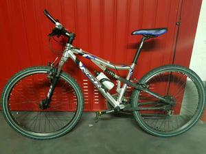 Bicicletta MTB mountain bike full uomo NSR usata poco