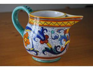 Deruta Giotto Brocca Caraffa Ceramica anni70