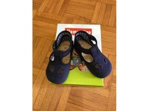 Diamantino scarpe NUOVE in cotone blu occhio di bue n.19
