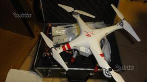 Drone quadricottero dji valigia batterie eliche