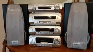 Hi-fi Technics SA-EH780 hi-fi completo stereo 5 cd