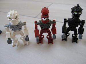 LEGO Minifigures Bionicle Mini Omini Piraka Toa Inika