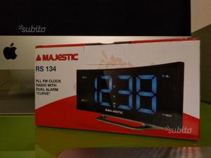 Majestic Rs-134 Radio Sveglia Digitale FM
