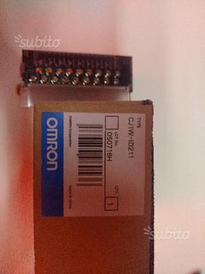 Modulo Ingressi PLC Omron CJ1W-ID211 Nuovo