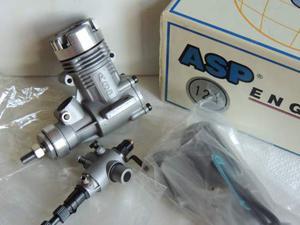 Motore a scoppio per aeromodelli ASP 12A - ABC